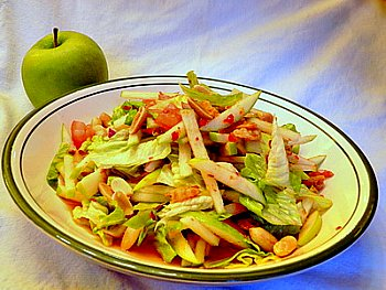 ... green apple salad recipes dishmaps spicy shrimp and green apple salad