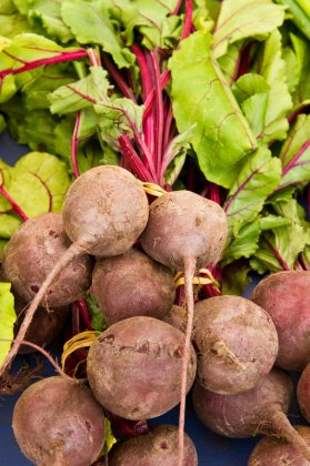 beautiful raw beets